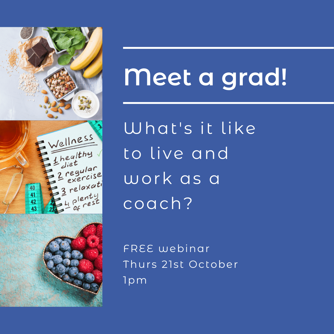 Meet a grad. What's it like to live and work as a Nutrition & Lifestyle Coach?